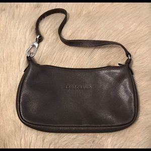 LONGCHAMP Brown Shoulder Bag...Small